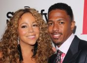 Mariah Carey and Nick Cannon at the 2012 BMI Urban Awards