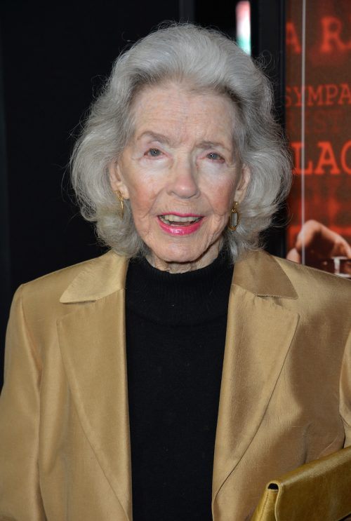 """Marsha Hunt at the premiere of """"Trumbo"""" in 2015"""
