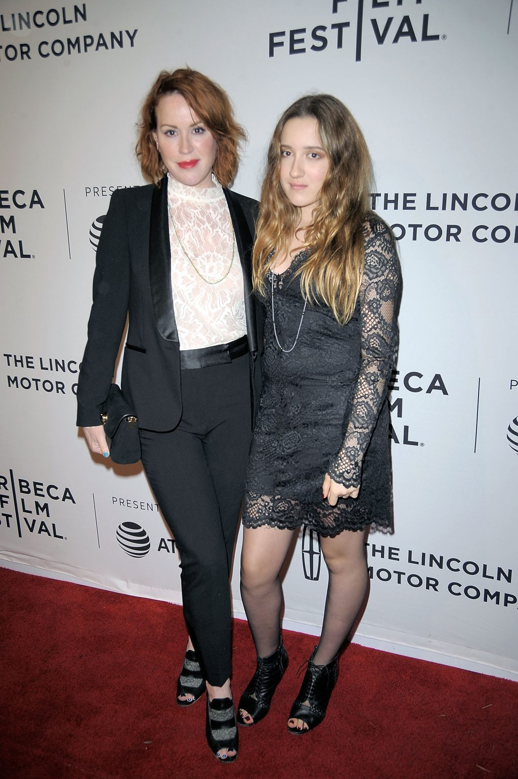 Molly Ringwald and Mathilda Gianopoulos