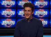 """Matt Amodio being interviewed for """"Jeopardy!"""""""