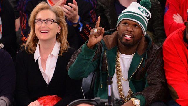 Meryl Street and 50 Cent