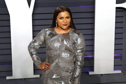 Mindy Kaling at the 2019 Vanity Fair Oscar Party