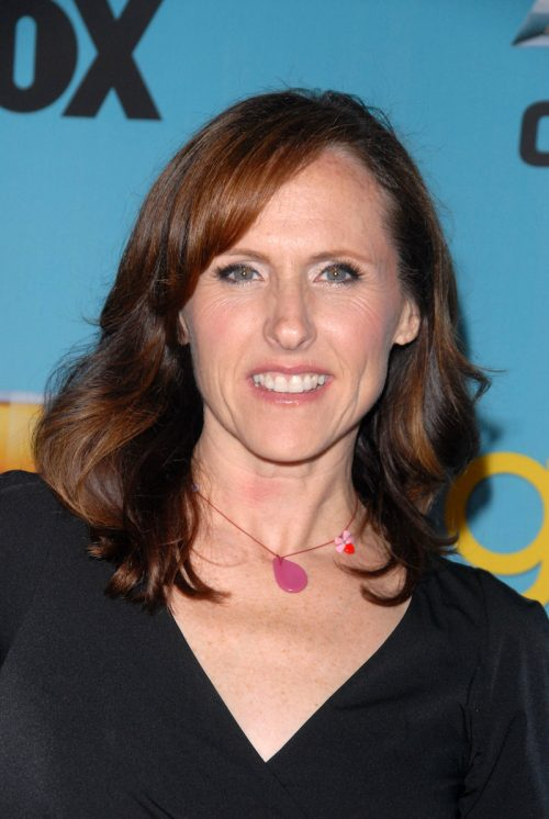 """Molly Shannon at a """"Glee"""" event in 2010"""