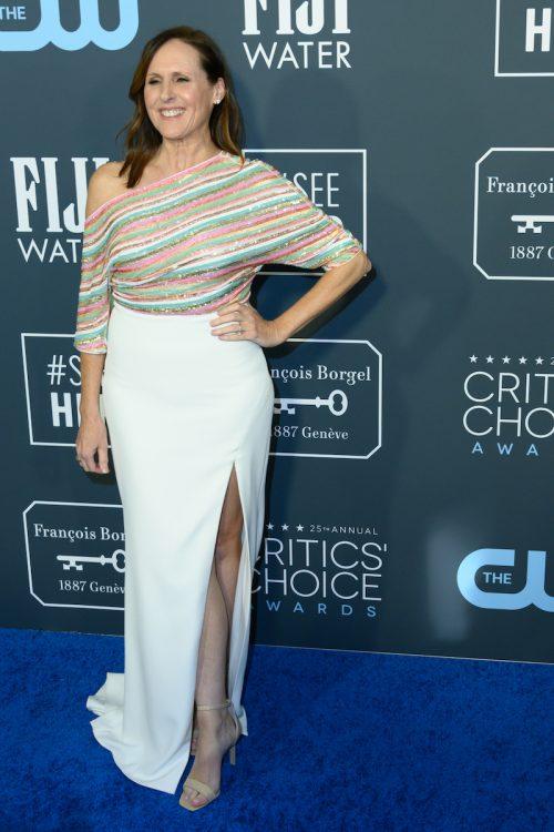 Molly Shannon at the 2020 Critics Choice Awards