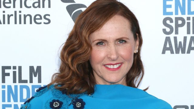 Molly Shannon at the 2019 Film Independent Spirit Awards
