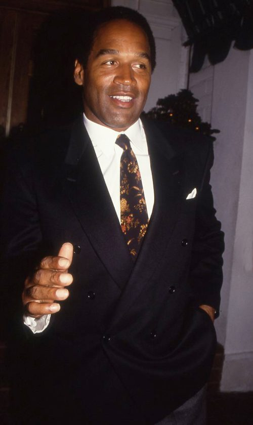 O.J. Simpson at an event in 1990