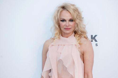 Pamela Anderson at the amfAR Cannes Gala 2019
