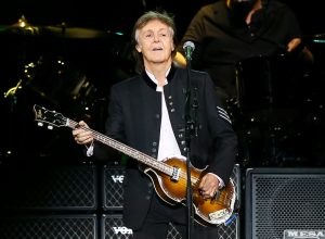 Paul McCartney performing at NYCB Live in Uniondale, NY in 2017