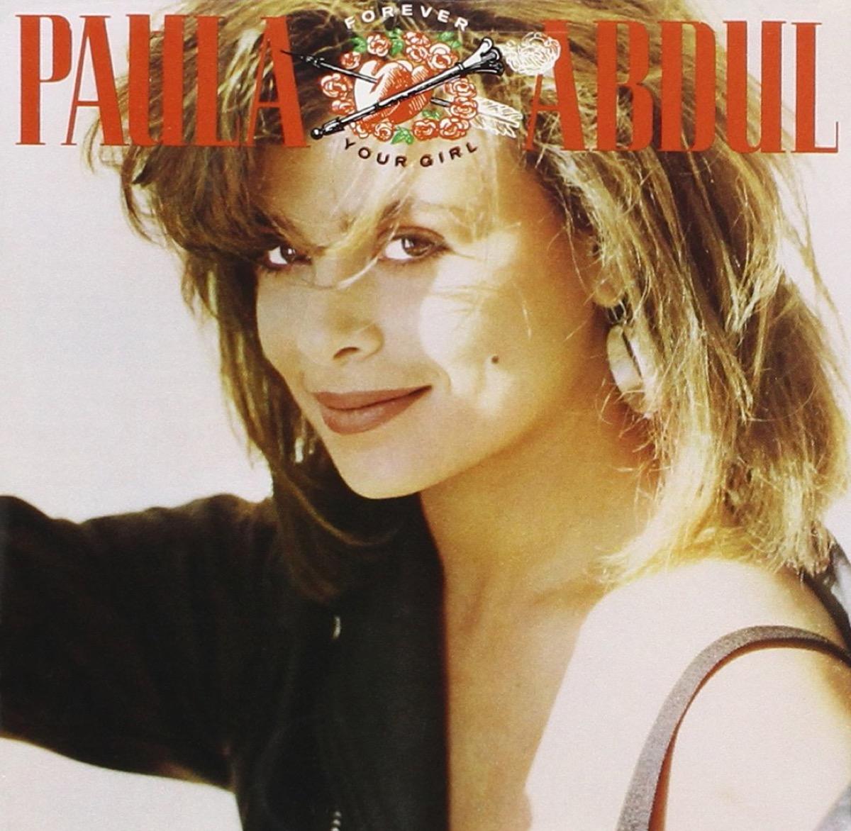 "Paula Abdul ""Forever Your Girl"" album cover"