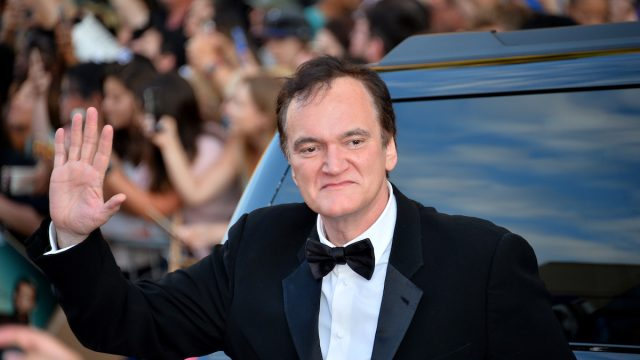 """Quentin Tarantino at the premiere of """"Once Upon a Time in Hollywood"""" in 2019"""