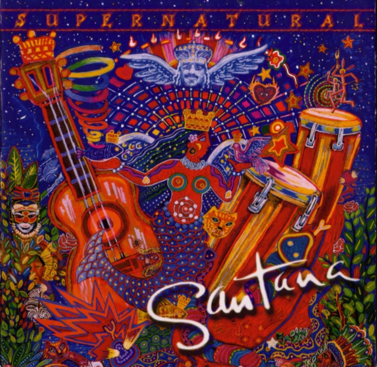 "Santana ""Supernatural"" album cover"
