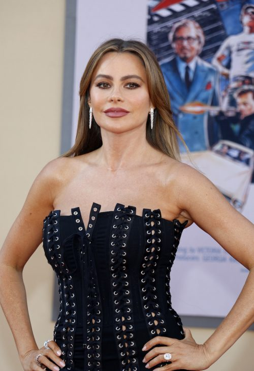 """Sofía Vergara at the premiere of """"Once Upon a Time in Hollywood"""" in 2019"""