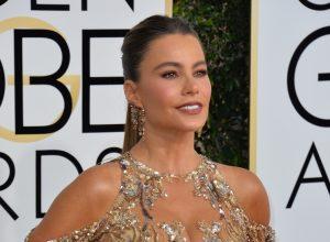 Sofía Vergara at the 2017 Golden Globe Awards