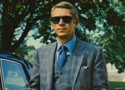 """Steve McQueen in a publicity image for """"The Thomas Crown Affair"""" in 1968"""