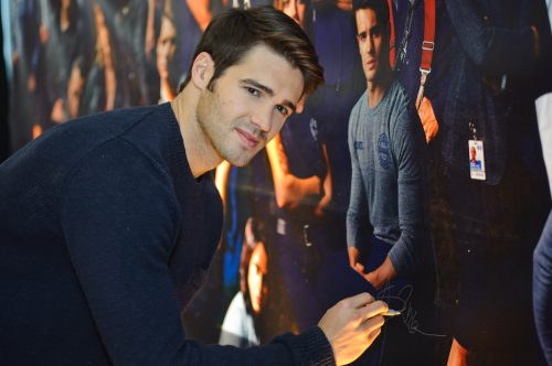 """Steven R. McQueen at a press junket for the """"Chicago"""" franchise in 2015"""