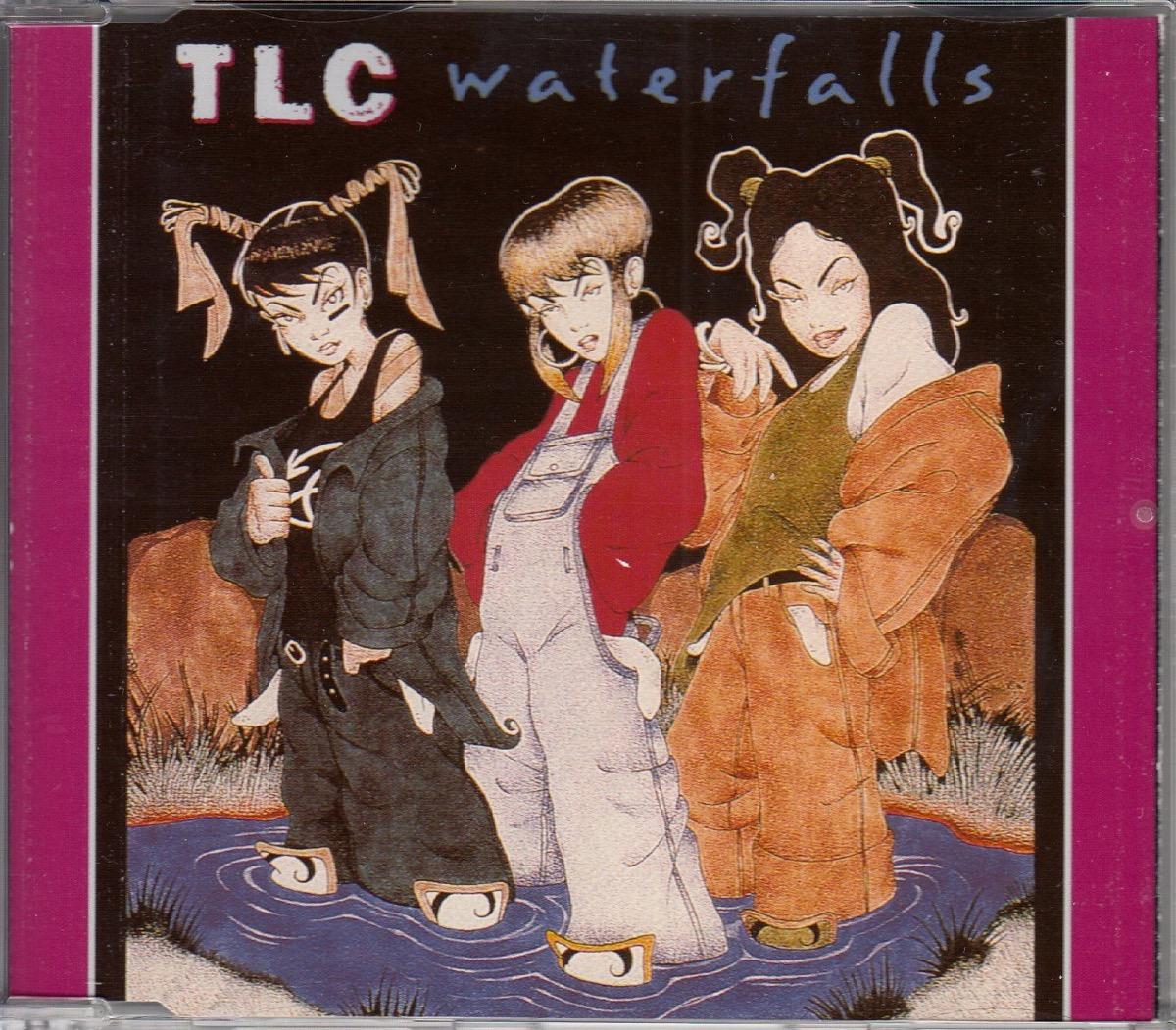 "TLC ""Waterfalls"" single cover"