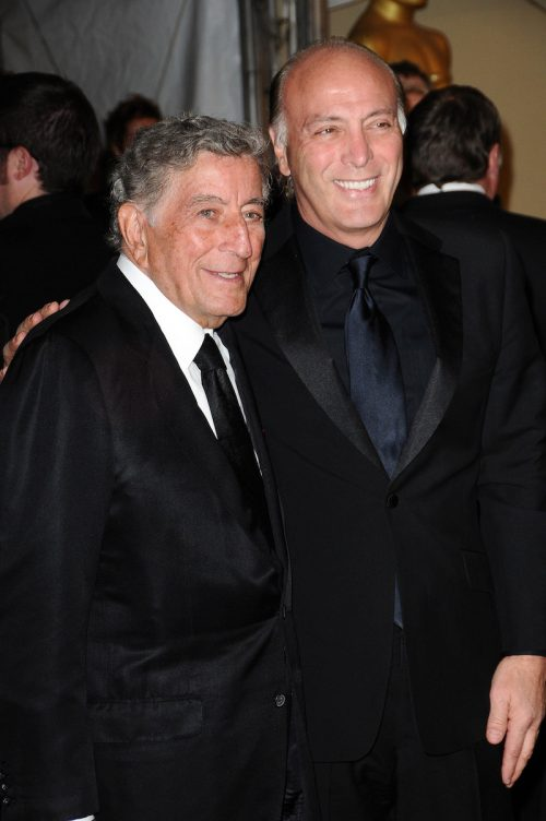 Tony and Danny Benett at the 2nd Annual Academy Governors Awards