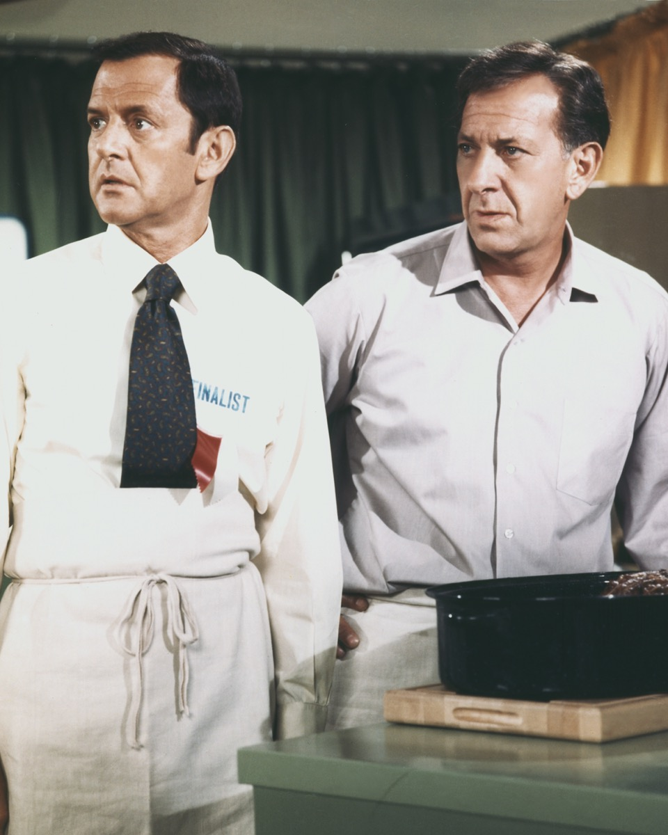 """Tony Randall and Jack Klugman in """"The Odd Couple"""""""