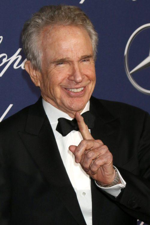 Warren Beatty at the Palm Springs International Film Festival Gala in 2017