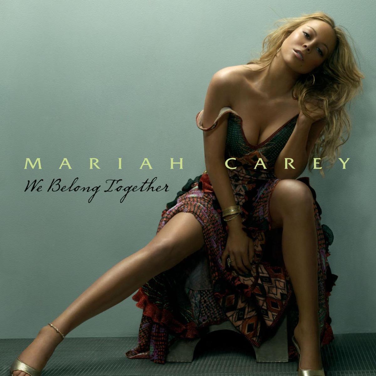 "Mariah Carey ""We Belong Together"" single cover"