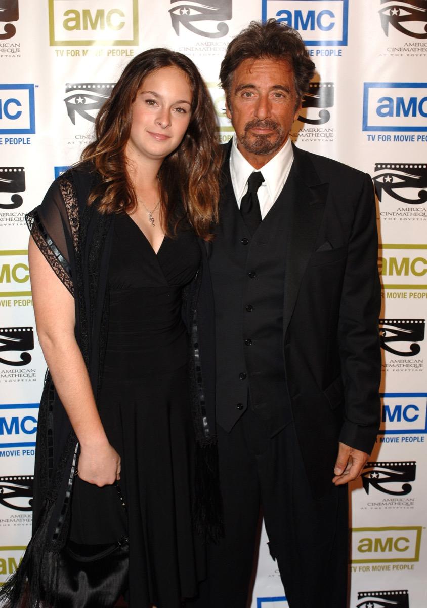 Al Pacino and Julie Pacino in 2005