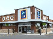exterior of an Aldi supermarket in the U.S.