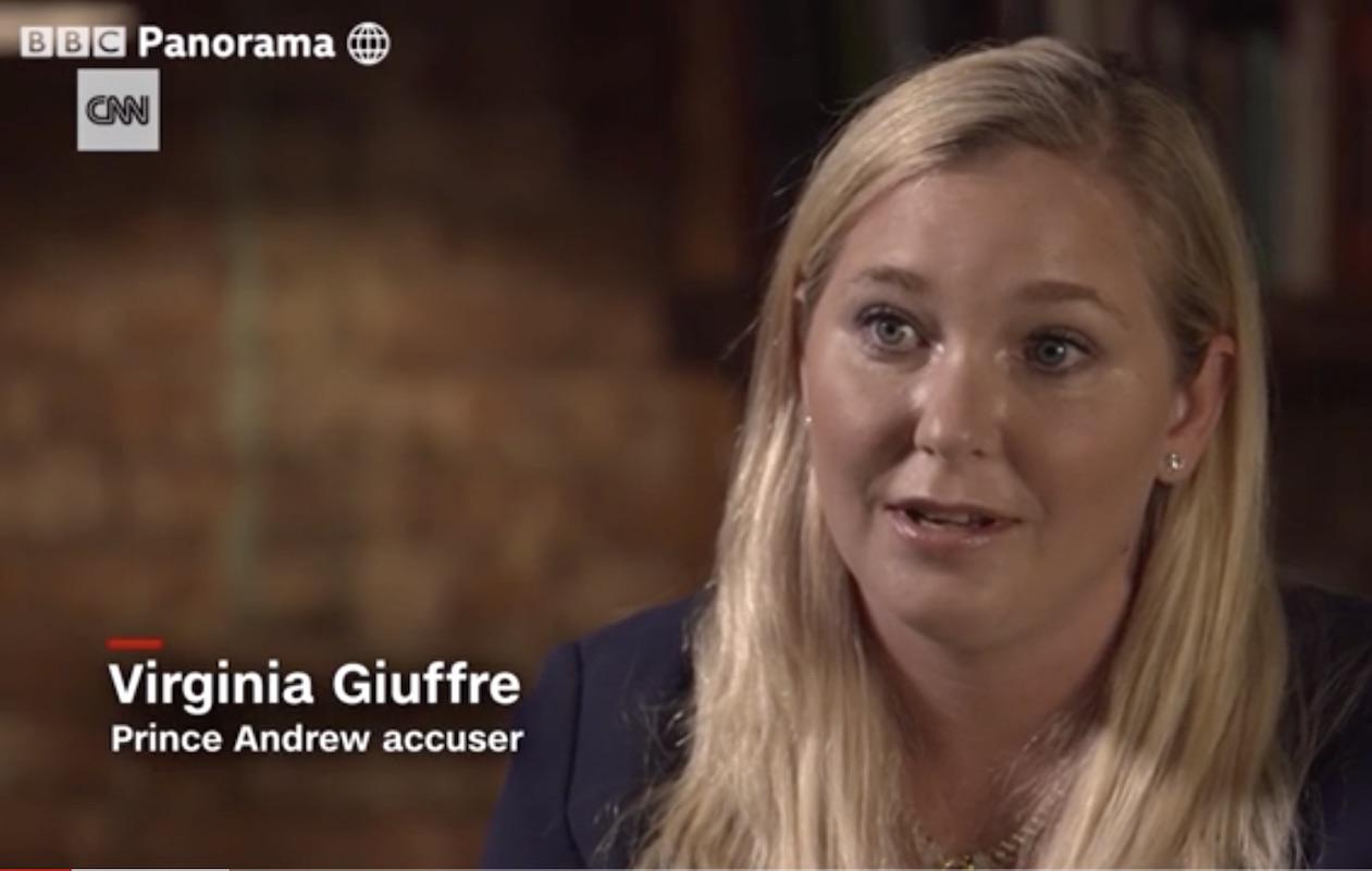 Virginia Giuffre, Prince Andrew accuser, on BBC's Panorama in Dec. 2019