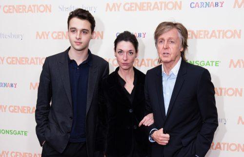 Paul McCartney, Mary McCartney, and Arthur Donal