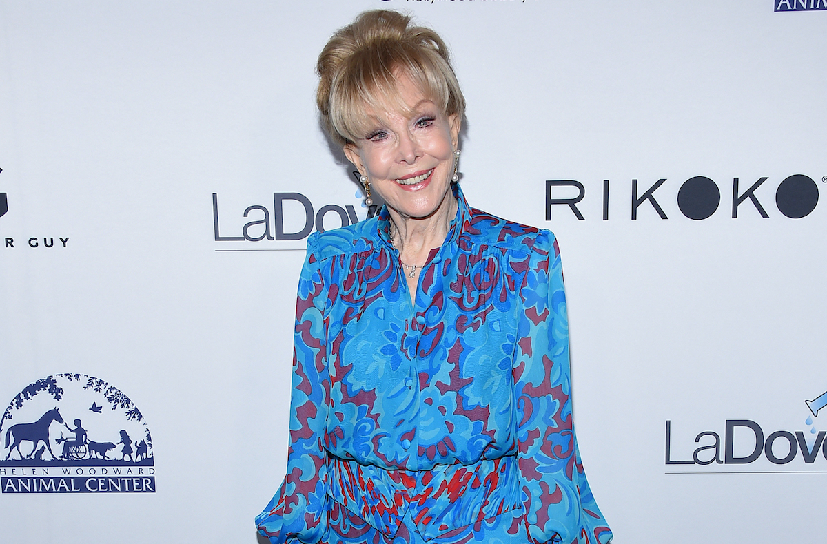 Barbara Eden arrives for the Hollywood Beauty Awards 2018 on February 25, 2018 in Hollywood, CA
