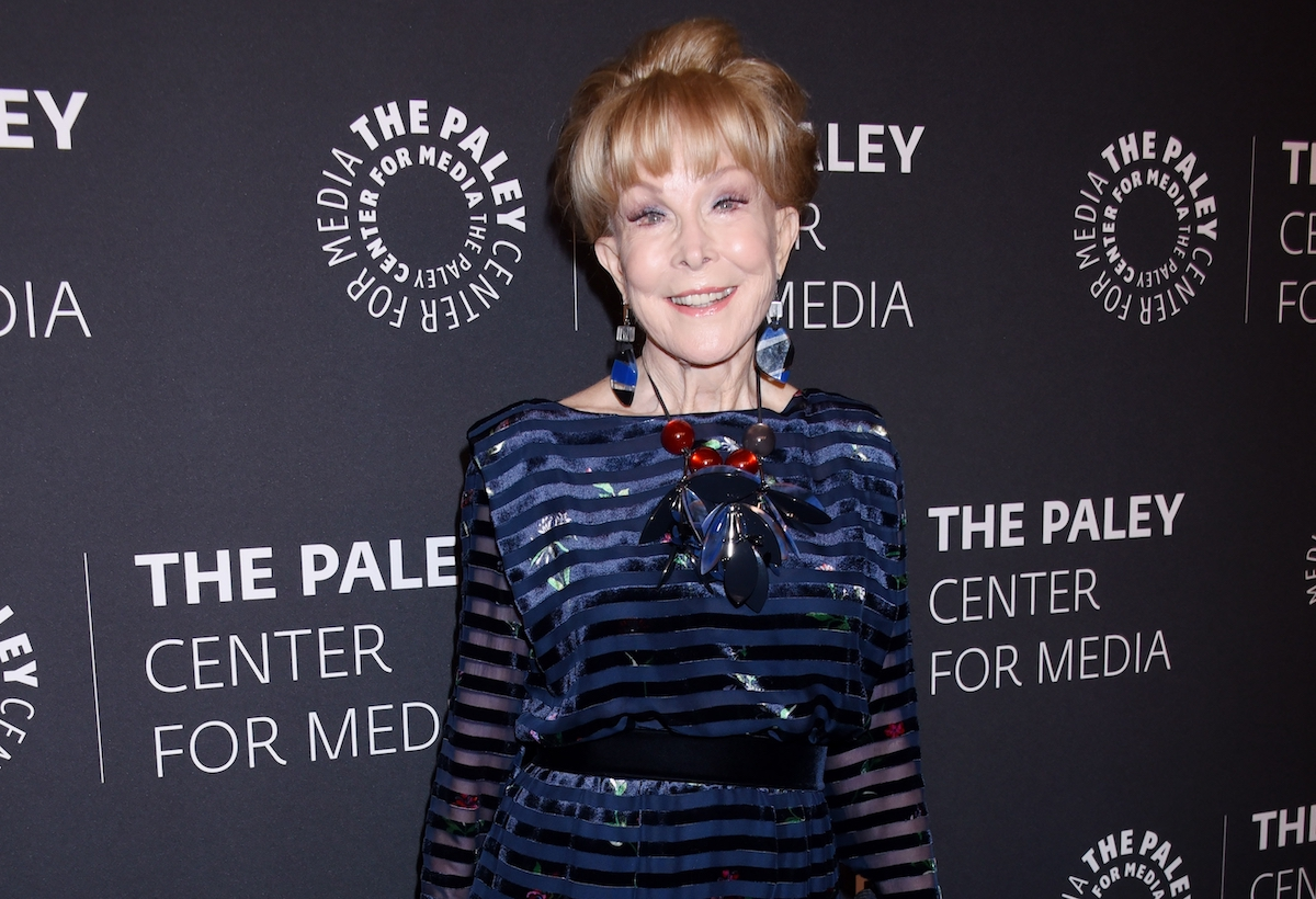 """Barbara Eden arrives to """"The Paley Honors: A Special Tribute To Television's Comedy Legends"""" on November 21, 2019 in Beverly Hills, CA"""