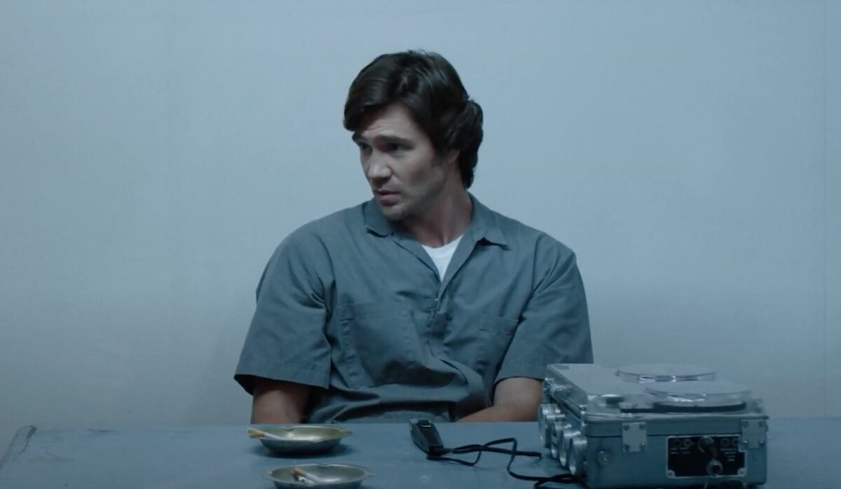 "Chad Michael Murray as Ted Bundy in ""American Boogeyman"""