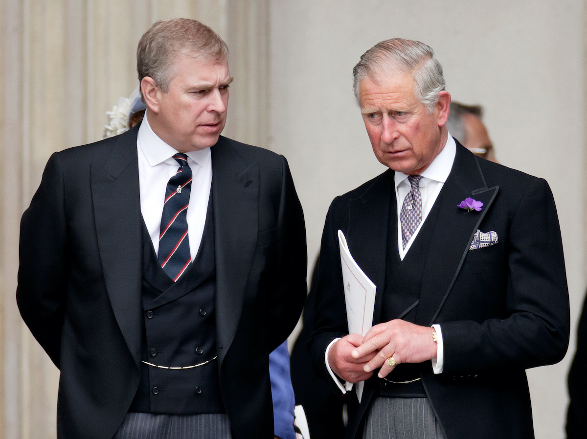 Prince Andrew, Duke of York and Prince Charles, Prince of Wales