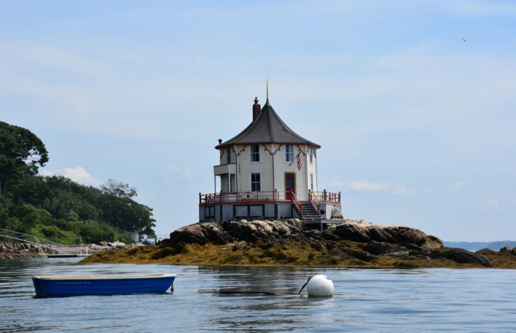 photo of Bustin's Island, which is a part of Freeport in Cumberland County, Maine
