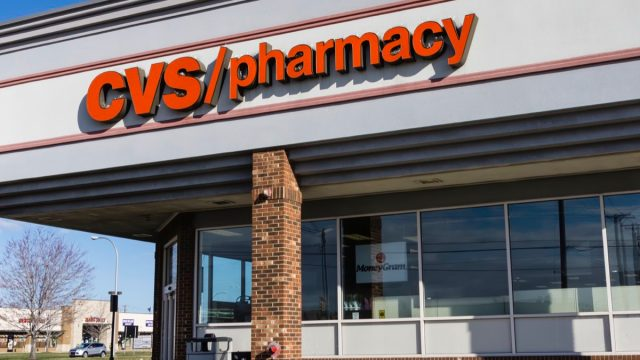 Troy, Michigan, USA - March 21, 2016: The CVS Pharmacy in Troy, Michigan. CVS is the second largest chain of pharmacies in the USA with over 7,000 locations.
