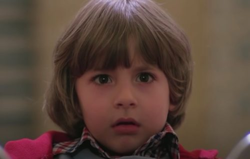 """Danny Llyod in """"The Shinning"""" in 1980"""