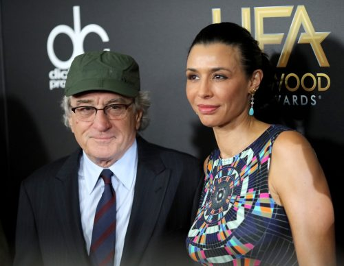 drena and robert de Niro attends the 19th Annual Hollywood Film Awards at The Beverly Hilton Hotel on November 1, 2015 in Beverly Hills, California.