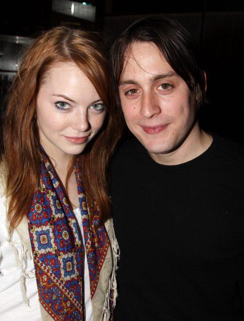 Emma Stone and Kiernan Culkin in 2009