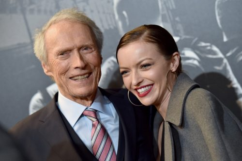 Francesca Eastwood and Clint Eastwood in 2018