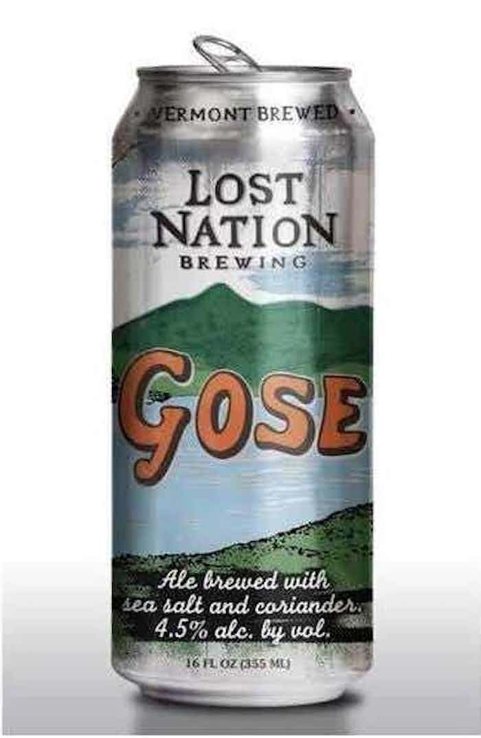 Gose Beer by Lost Nation