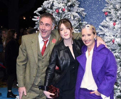 Greg Wise, Gaia Wise, and Emma Thompson