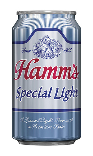 A can of Hamm's Special Light beer