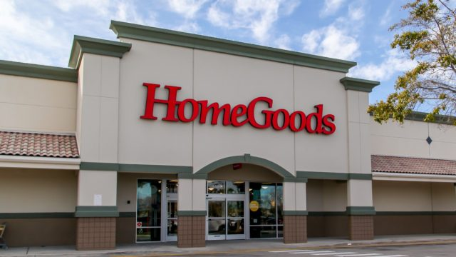 homegoods store exterior during daytime