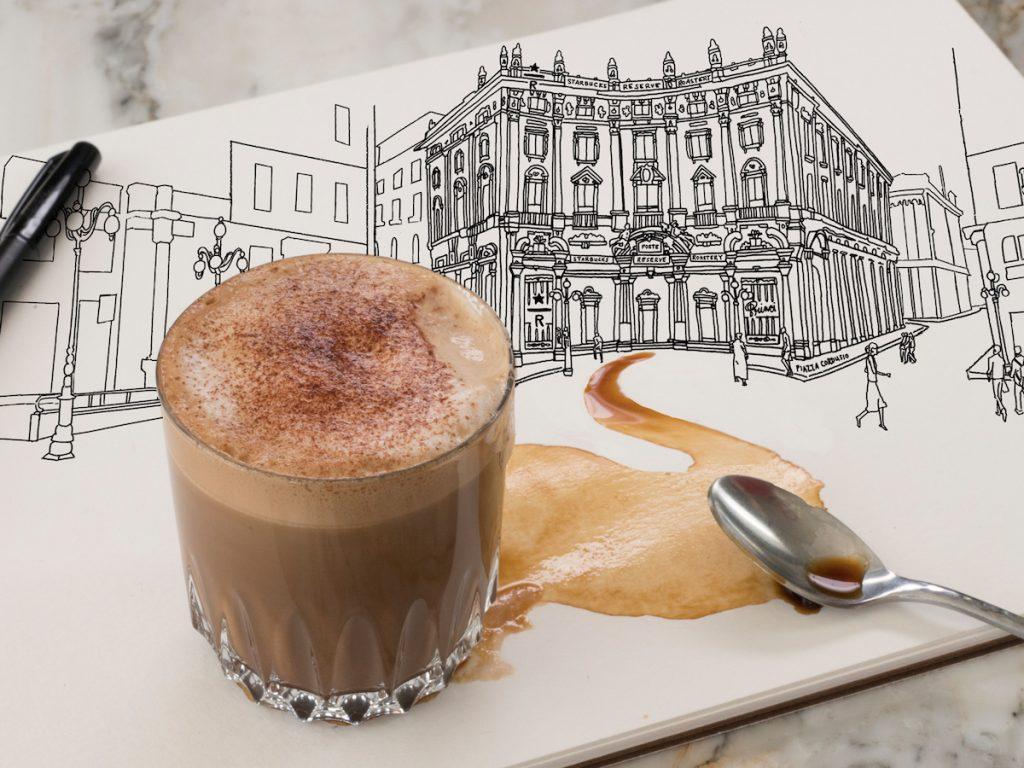 Cordusio Coffee Starbucks