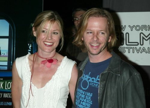 David Spade and Julie Bowen in 2002