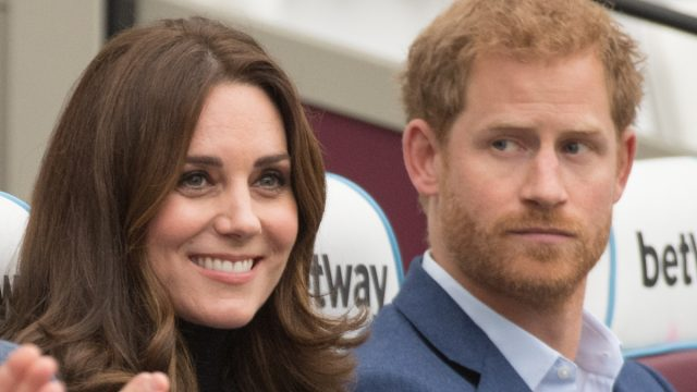 Prince Harry and Catherine, Duchess of Cambridge attend the Coach Core graduation ceremony for more than 150 Coach Core apprentices at The London Stadium on October 18, 2017 in London, England.