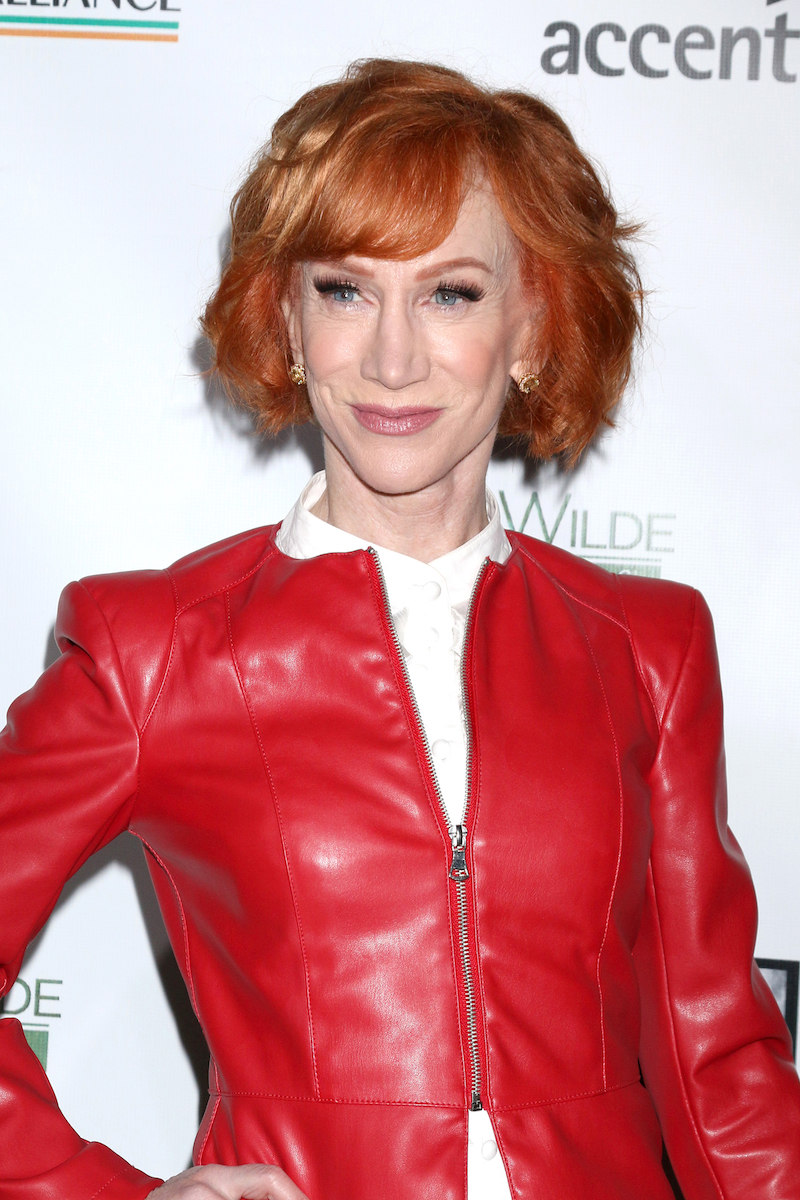 Kathy Griffin at the 2019 Oscar Wilde Awards