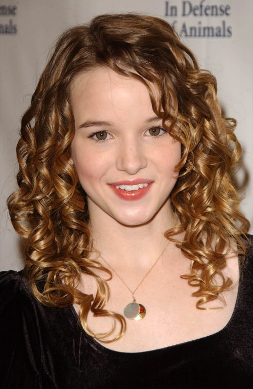 Kay Panabaker at the 2007 In Defense of Animals Benefit Concert