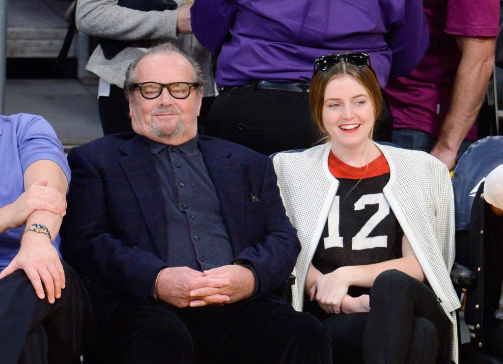 Jack Nicholson and Lorraine Nicholson 2014