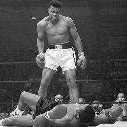 Muhammad Ali Taunting Sonny Liston
