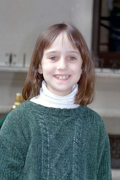 Mara Wilson at Planet Hollywood in 1996